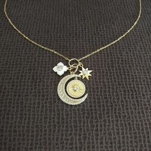 isabella m. Multi Charm Necklace - NWT